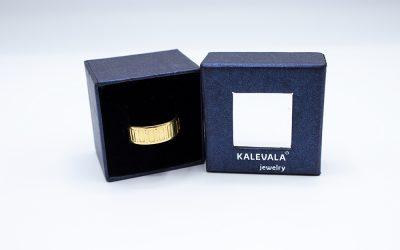 Kalevala Koru Metsäpirtti -sormus