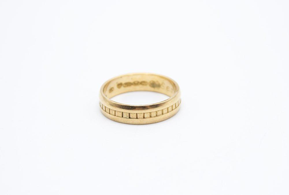 Kalevala Koru kultasormus -1156